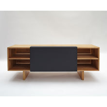 Load image into Gallery viewer, Lax Series - Entertainment Shelf Matte black LAX.58.20.15.WC M/B