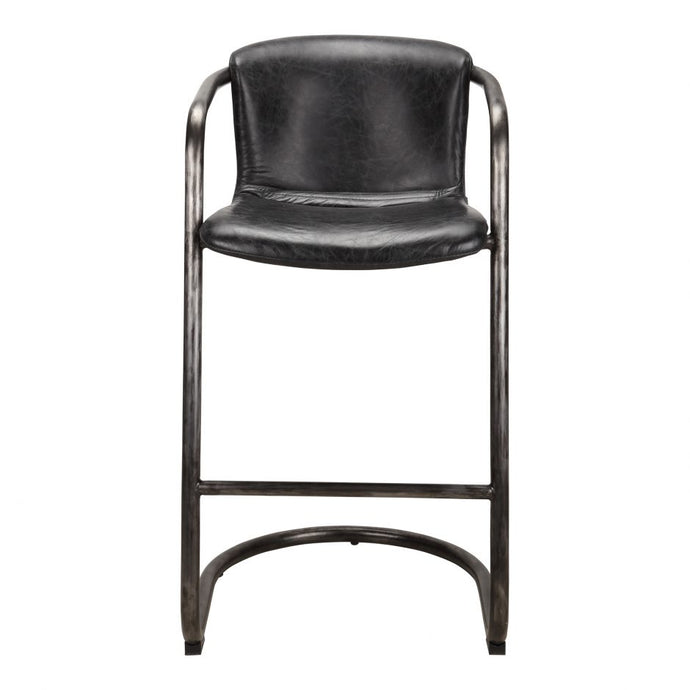 Moe's Home Collection - FREEMAN BARSTOOL -PK-1060-02 Black