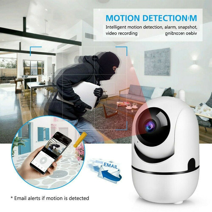 1080P WiFi IP Camera Home Security Monitor w/ Night Vision