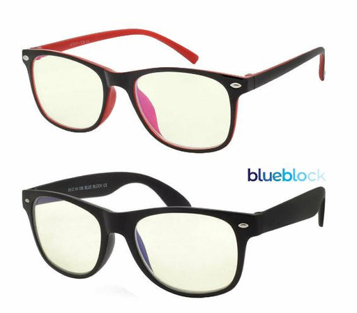 Blue Light Glasses Blue Blocking Computer Gaming (2 Pack Glasses Adult & Kid)