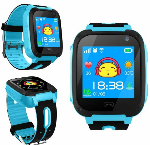 Kids Smart Watch With GPS, Camera & Calling SOS