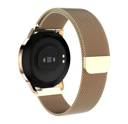 Luxury Golden Women Smartwatch for Fitness & Everyday Use