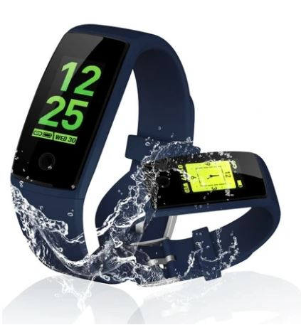 Smart Watch With Heart Rate Monitor Bluetooth for Android & iOS