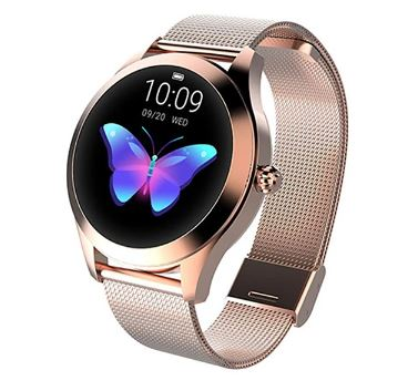 Womens Bluetooth Smart Watch Heart Rate Monitor