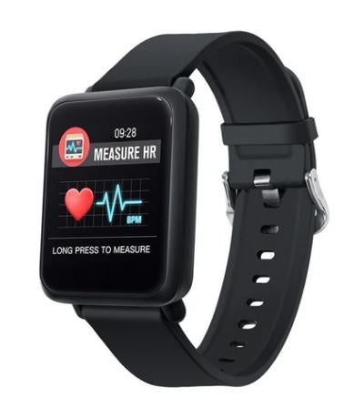 Smart Watch Waterproof Blood Pressure Monitor For Android & IOS