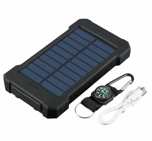 Rugged Solar Powered Power Bank