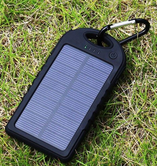USB Solar Powered Waterproof Power Bank