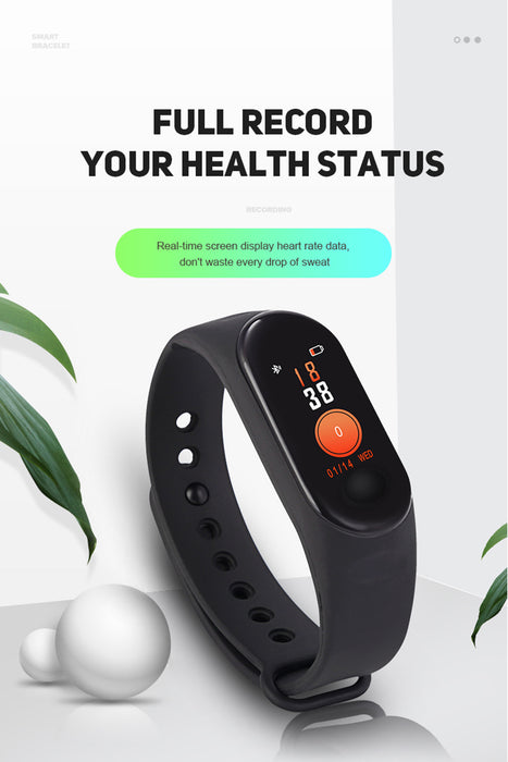 Fitness Smart Watch and Heart Rate Monitor
