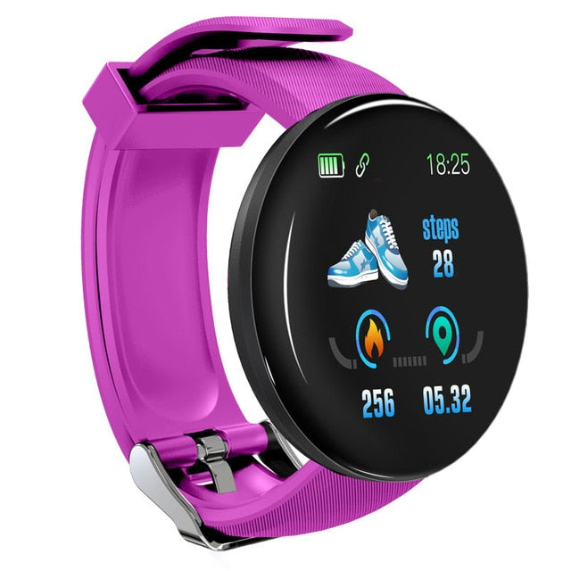 Bluetooth Smart Watch Health Monitor For Android & IOS