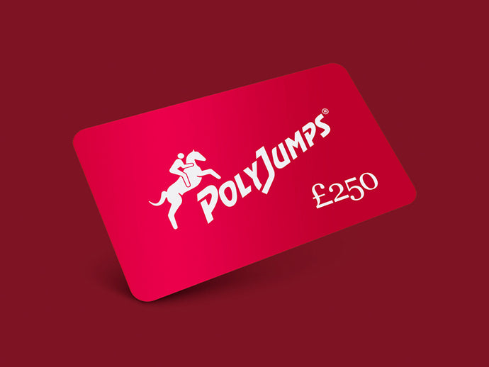 Metallic Red PolyJumps Gift Card for £250.00