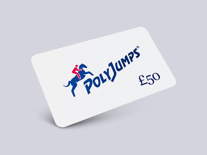 Metallic White PolyJumps Gift Card for £50.00