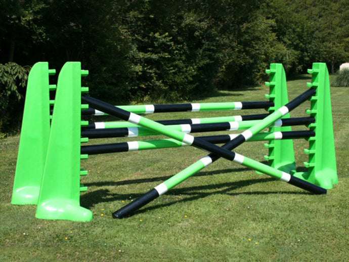 2 pairs of 8 Cups in Eco Green with 6 9 Band Pro Poles.