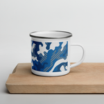 Load image into Gallery viewer, Los Angeles Camping Enamel Mug