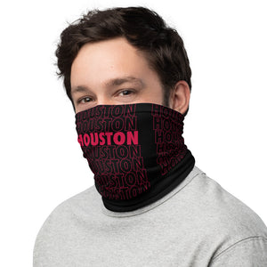 Thank You Houston Basketball Neck Gaiter