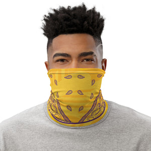 Los Angeles Basketball Bandana Design Neck Gaiter