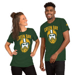 Load image into Gallery viewer, Green Bay Cheese Beard Short-Sleeve Unisex T-Shirt