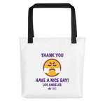 Load image into Gallery viewer, Thank You Los Angeles Tote Bag
