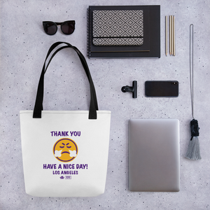Thank You Los Angeles Tote Bag