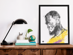 Load image into Gallery viewer, King James Fan Art, Original Hand-Drawn Digital Illustration