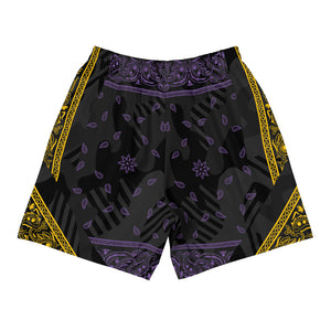 Los Angeles Bandana Men's Athletic Long Shorts