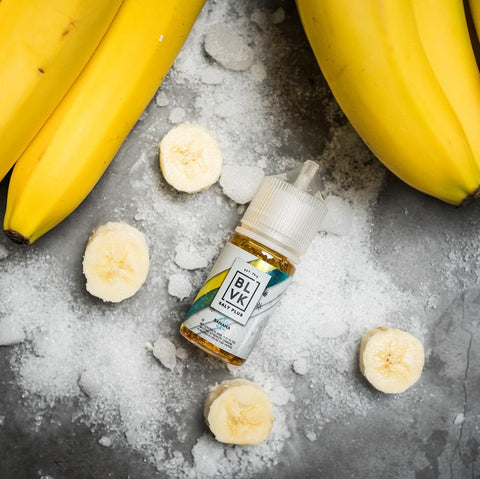 BANANA ICE SALT PLUS E-LIQUID 30ML by BLVK Unicorn  VapeNation.pk Vape Pakistan