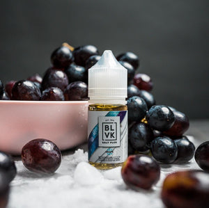 GRAPE ICE SALT PLUS E-LIQUID 30ML by BLVK Unicorn