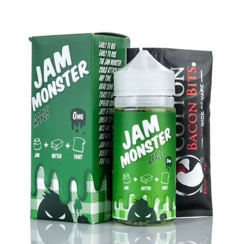 Apple by Jam Monster Liquids - 100mL  VapeNation.pk Vape Pakistan