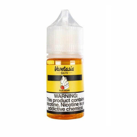 KILLER KUSTARD STRAWBERRY BY VAPETASIA SALTS 30ML - VapeNation.pk Vape Pakistan