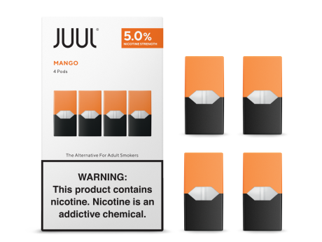 Mango - JUUL PODS (Pack of 4) - VapeNationpk