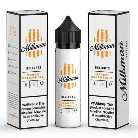 THE MILKMAN DELIGHTS ELIQUIDS - MANGO CREAMSICLE - 60ML - VapeNationpk