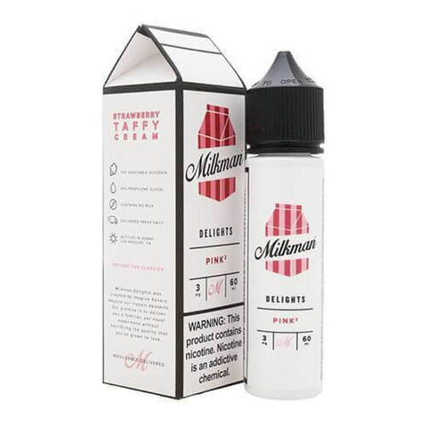 THE MILKMAN DELIGHTS ELIQUIDS - PINK2 - 60ML - VapeNationpk