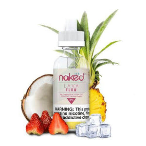 NAKED 100 - LAVA FLOW ICE - 60ML - VapeNation.pk Vape Pakistan