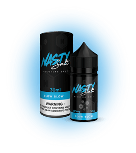 Slow Blow - Nasty Salt Nic E Liquid - VapeNation.pk Vape Pakistan
