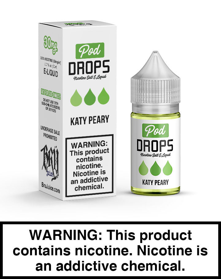 Pod Drops – Katy Peary - SaltNic 30ml - VapeNation.pk Vape Pakistan