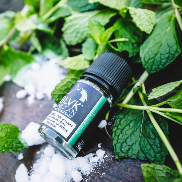 SPEARMINT Nicotine Salt by BLVK Unicorn