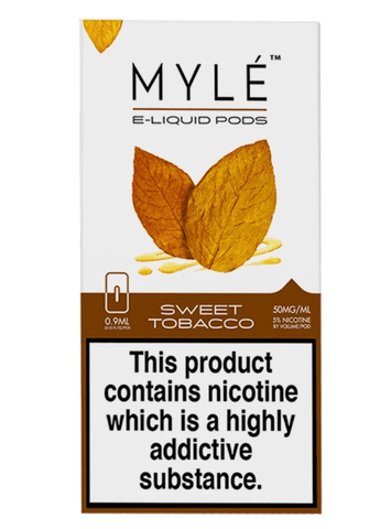 MYLE Sweet Tobacco Pods - Pack of 4 - VapeNation.pk Vape Pakistan