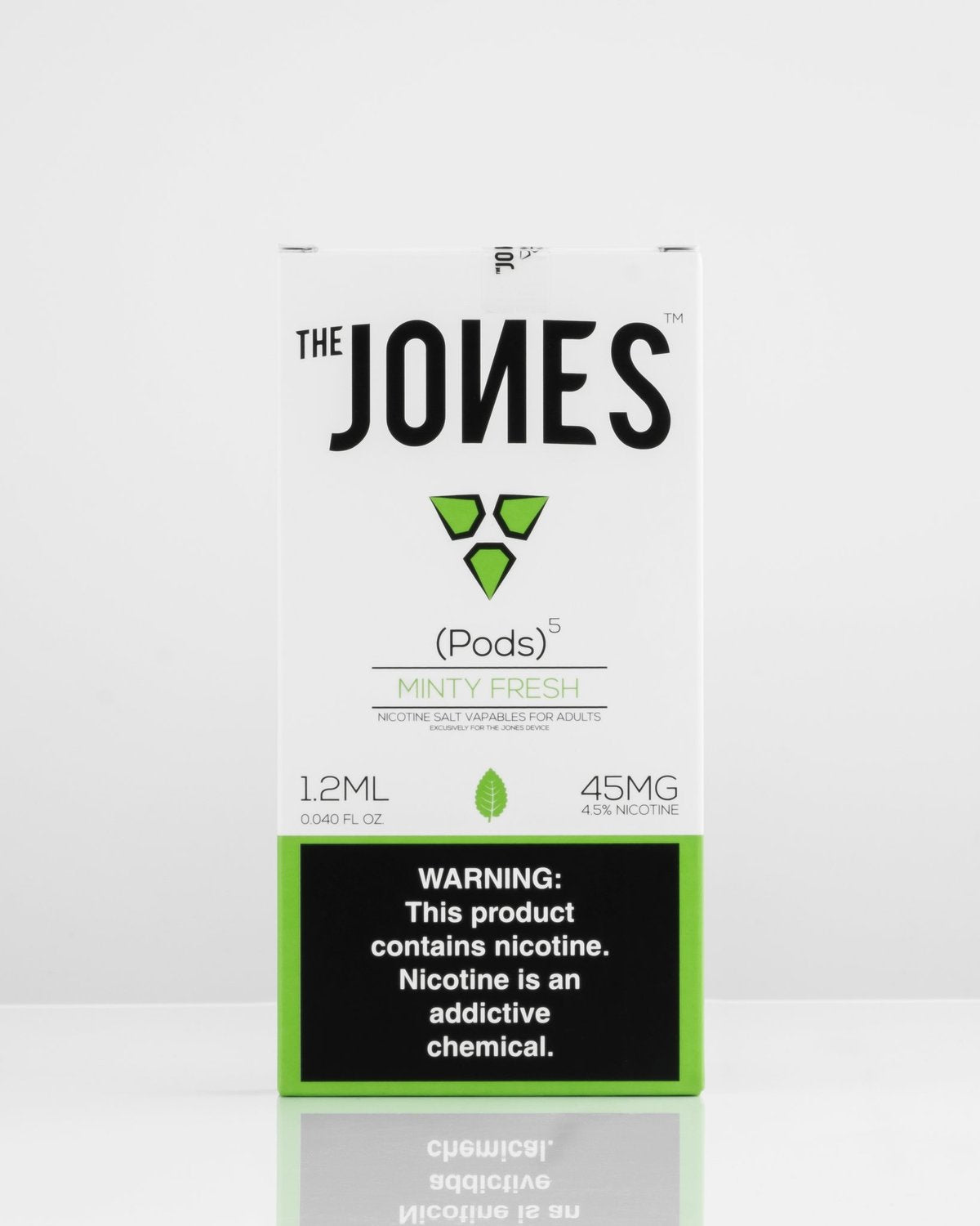 THE JONES PODS MINTY FRESH 5 PACK *JUUL COMPATIBLE*