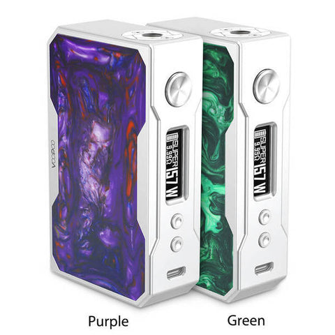 Voopoo Drag Silver Frame Resin Edition Mod - VapeNationpk