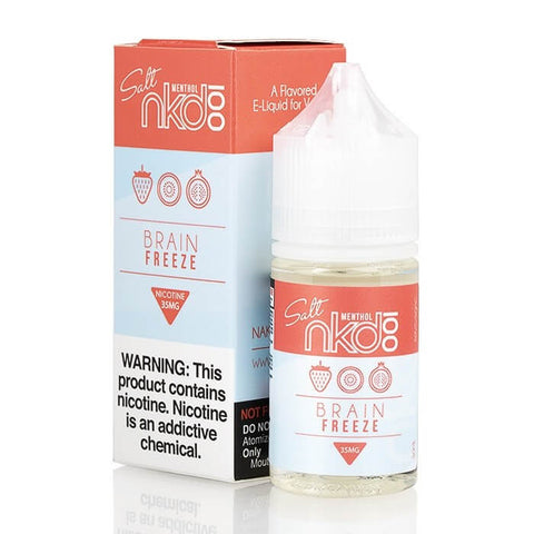 BRAIN FREEZE EJUICE BY NKD 100 SALT - VapeNationpk
