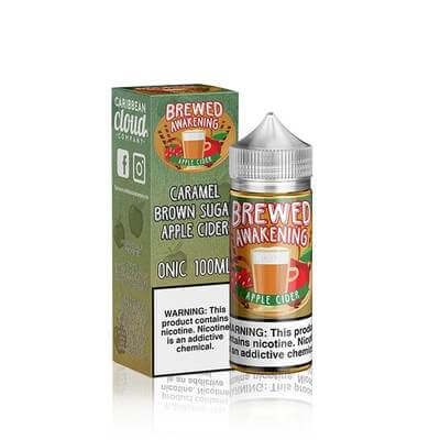 Apple Cider - Brewed Awakening E Liquid - 100ML - VapeNation.pk Vape Pakistan