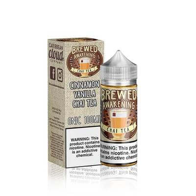 Vanilla Chai Tea - Brewed Awakening E Liquid - 100ML - VapeNationpk