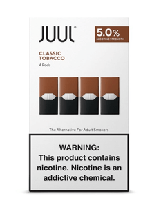 CLASSIC TOBACCO - JUUL PODS (Pack of 4) - VapeNation.pk Vape Pakistan