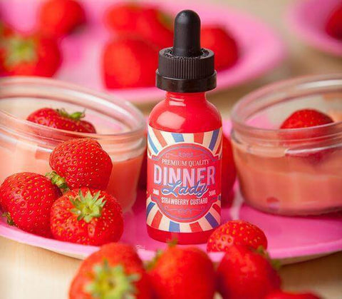 Strawberry Custard by Dinner Lady - 60ml - VapeNationpk