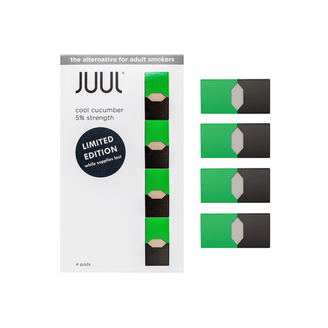 COOL CUCUMBER JUUL PODS (Pack of 4) Limited Edition - VapeNationpk