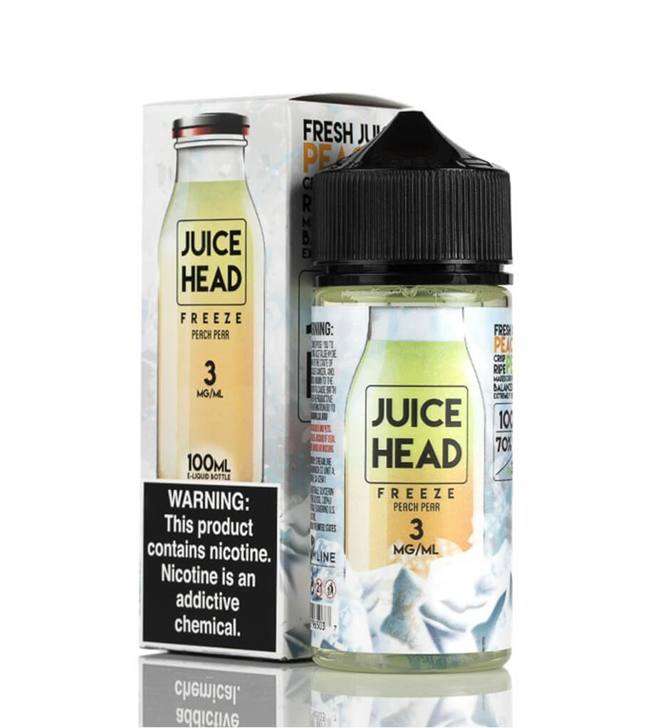 JUICE HEAD FREEZE - PEACH PEAR - 100ML
