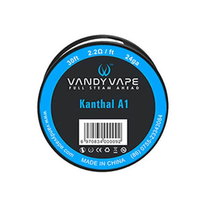 VANDY VAPE KANTHAL A1 24GA WIRE for Coils building - VapeNationpk