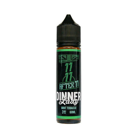 AFTER 11 Mint Tobacco E-LIQUID BY DINNER LADY  VapeNation.pk Vape Pakistan