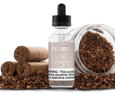 NAKED 100 TOBACCO - CUBAN BLEND - 60ML - VapeNation.pk Vape Pakistan