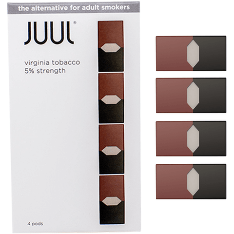 VIRGINIA TOBACCO - JUUL PODS (Pack of 4) - VapeNationpk