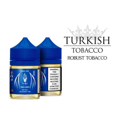 HALO - TURKISH TOBACCO E-LIQUID - 60ML - VapeNationpk